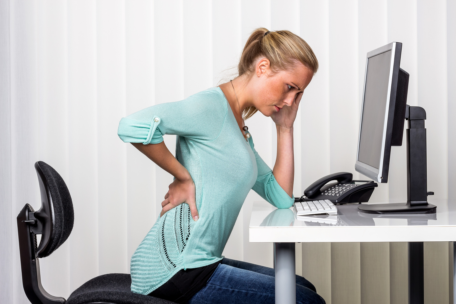 Your Work and Your Back Pain – Pt 32  Living Well Chiropractic P.C